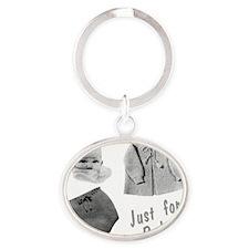 Era Images 2 Oval Keychain