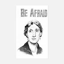 Whos Afraid? Sticker (Rectangle)