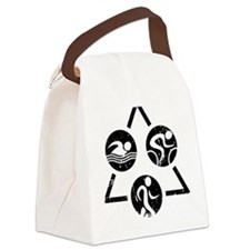 iSwim iBike iRun iTri Canvas Lunch Bag