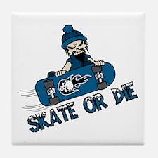 Skate or Die Tile Coaster