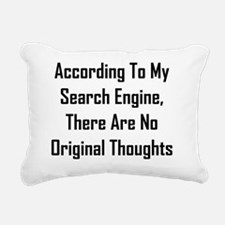 There Are No Original Th Rectangular Canvas Pillow