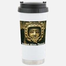 Ancient Alient Theorist Stainless Steel Travel Mug
