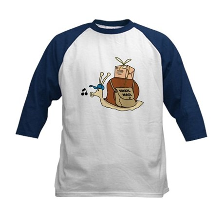 Snail Mail Kids Baseball Jersey