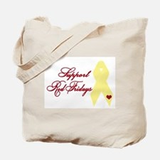 Support Red Fridays Tote Bag
