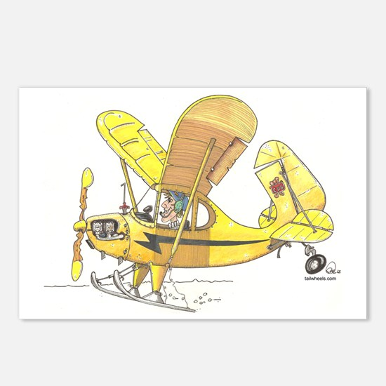 Cub Ski-Plane Postcards (Package of 8)