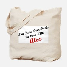 In Love with Alex Tote Bag