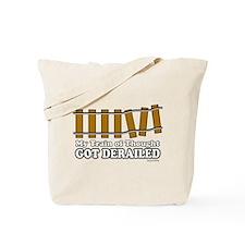 Derailed Tote Bag