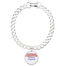 Vet Caregiver Heart Bracelet