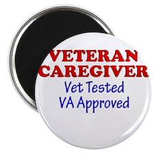 Vet Caregiver Heart Magnet