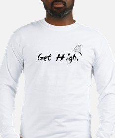 Get High Skydiving Long Sleeve T-Shirt