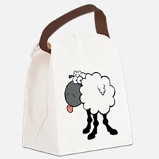 0049_Sheep58 Canvas Lunch Bag