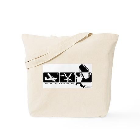 Jump Stages Skydiving Tote Bag