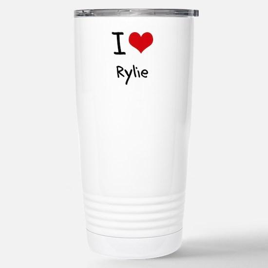 I Love Rylie Mugs