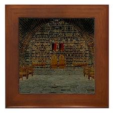 Medieval Tavern Framed Tile