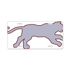0097_Tiger110.gif Aluminum License Plate
