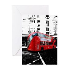 New Routemaster bus Greeting Card