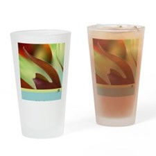 Floral Alchemy: Let it Flow Greetin Drinking Glass