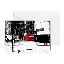 A new routemaster red bus Greeting Card