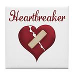 Heartbreaker Tile Coaster