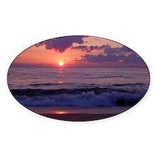 ocean sunrise Decal