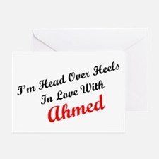 In Love with Ahmed Greeting Cards (Pk of 10)
