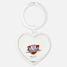 kiersten a. stein Heart Keychain