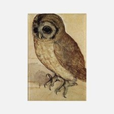 Albrecht Durer The Little Owl Rectangle Magnet