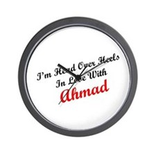 In Love with Ahmad Wall Clock