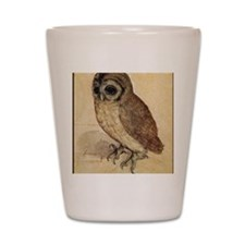 Durer Owl Shot Glass