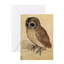 Durer Owl Greeting Card