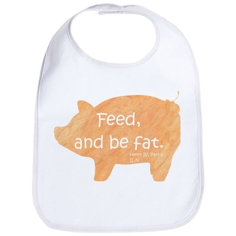 Shakespeare - She Is Fierce Baby Bib