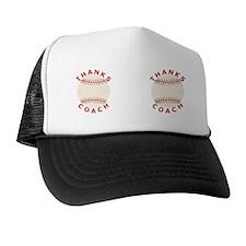 Baseball Thanks Coach Trucker Hat