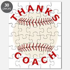 Baseball Thanks Coach Puzzle