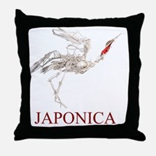 JaponicaJ Throw Pillow