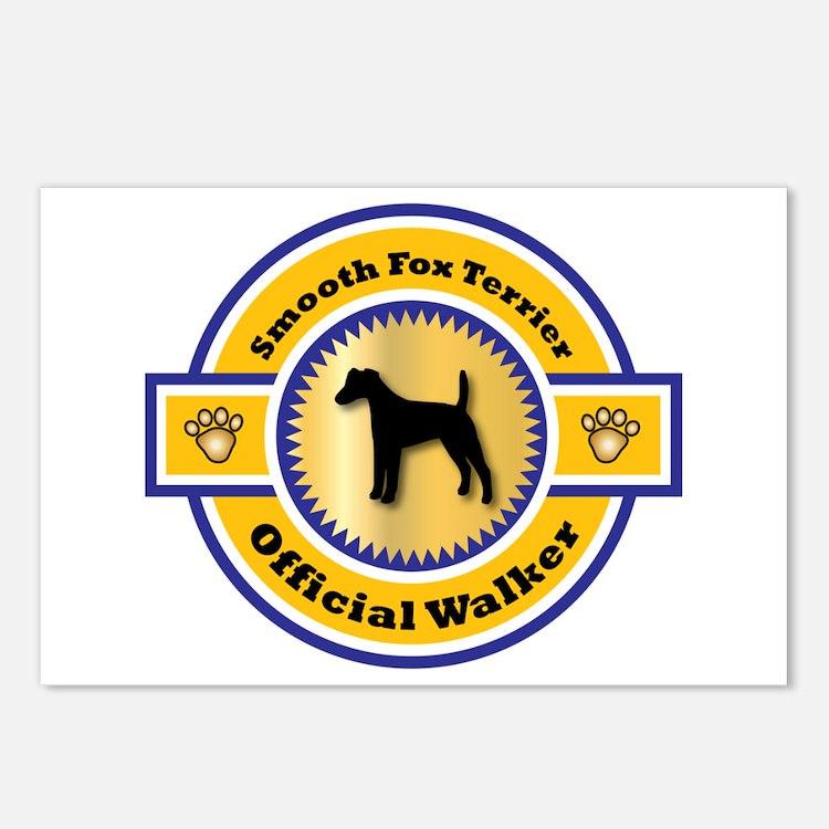 Terrier Walker Postcards (Package of 8)