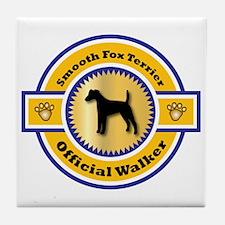 Terrier Walker Tile Coaster