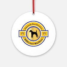 Terrier Walker Ornament (Round)