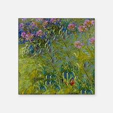 """Shower Monet Aga Square Sticker 3"""" x 3"""""""