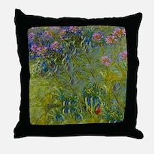 Shower Monet Aga Throw Pillow