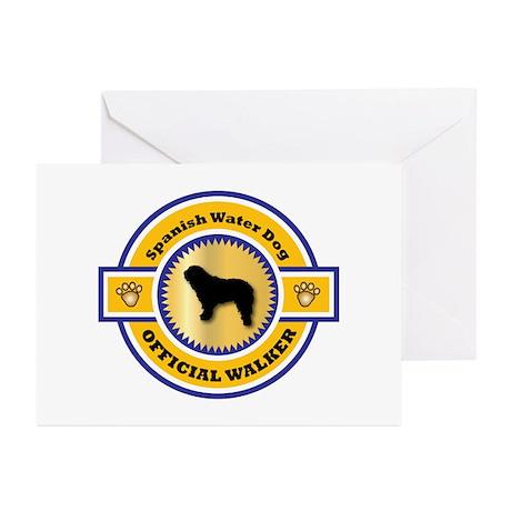 Water Dog Walker Greeting Cards (Pk of 10)