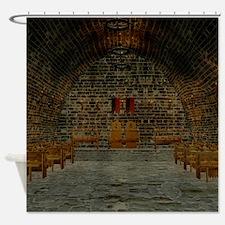 Medieval Tavern Shower Curtain