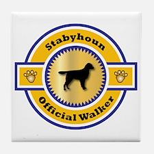 Stabyhoun Walker Tile Coaster