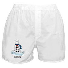 Bi-Polar Women Boxer Shorts