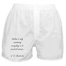 Idealism Boxer Shorts