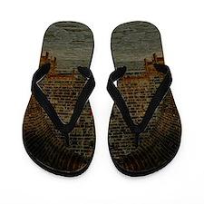 Medieval Tavern Flip Flops