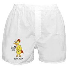 Fowl Play - Mens T-shirt Boxer Shorts