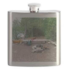 Boundary Waters Campsite Flask