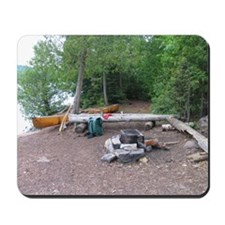 Boundary Waters Campsite Mousepad