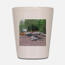Boundary Waters Campsite Shot Glass
