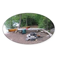 Boundary Waters Campsite Decal